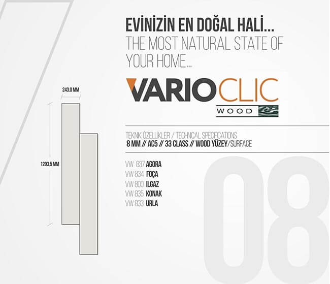 VARIOCLIC-WOOD