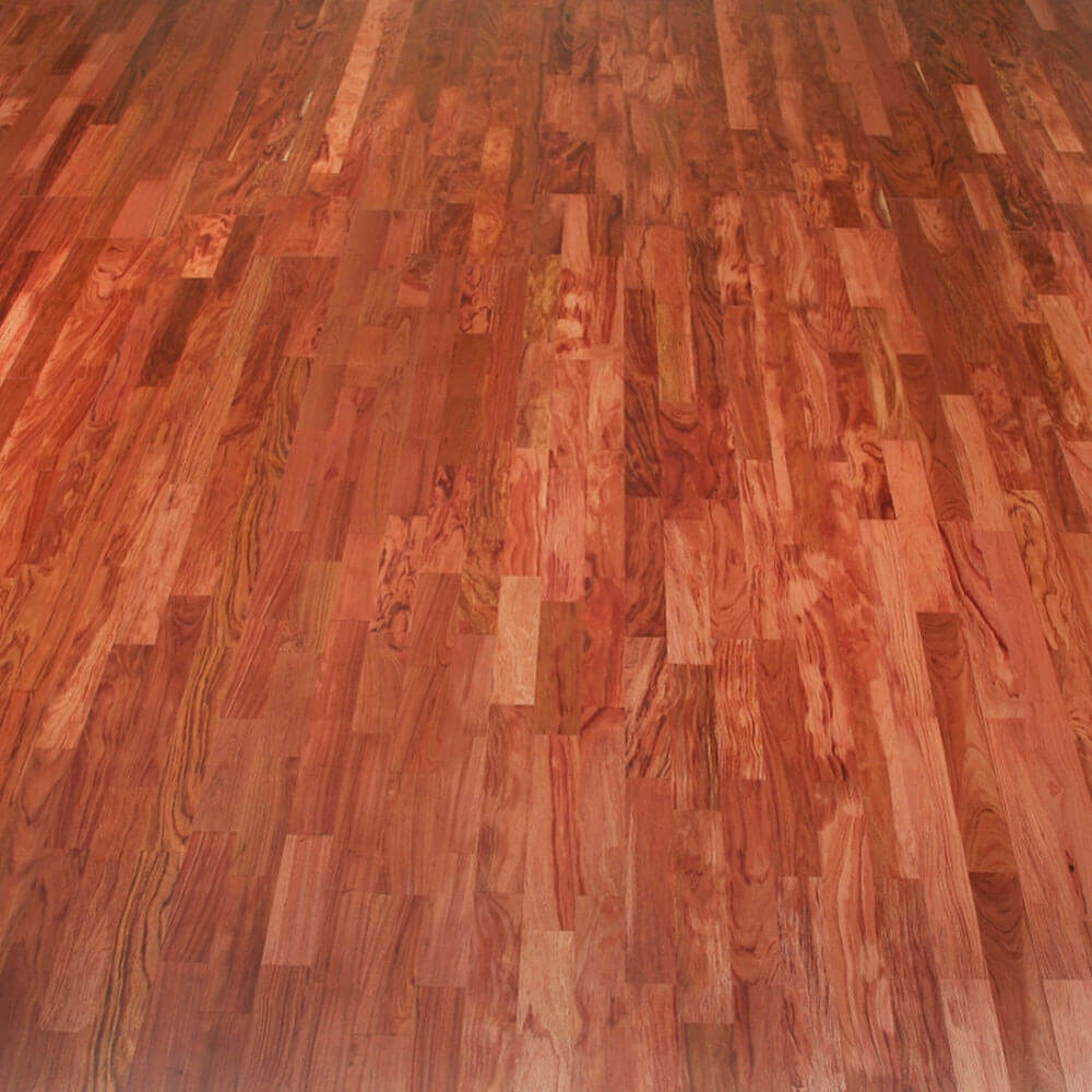3 Strip Bubinga