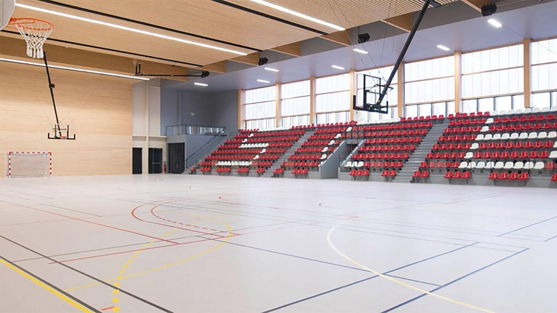 Indoor Sport Floors Lumaflex Energy Linosport